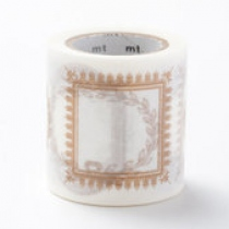 MT ex Washi Masking Tape by Namoi Paper กรอบภาพสีทอง at Blisby