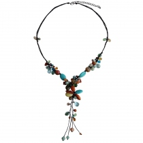 Sweet Fairy Handmade Natural Stone Necklace at Blisby