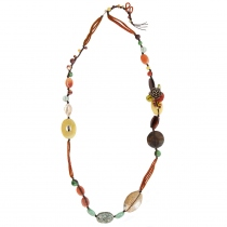 บานบุรี (Banburee) Handmade Natural Stone Necklace at Blisby
