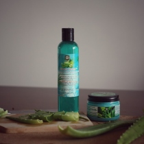 Homemade Aloe vera Shampoo at Blisby
