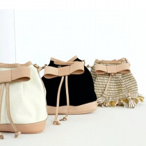 """BOW"" Bucket Bag"