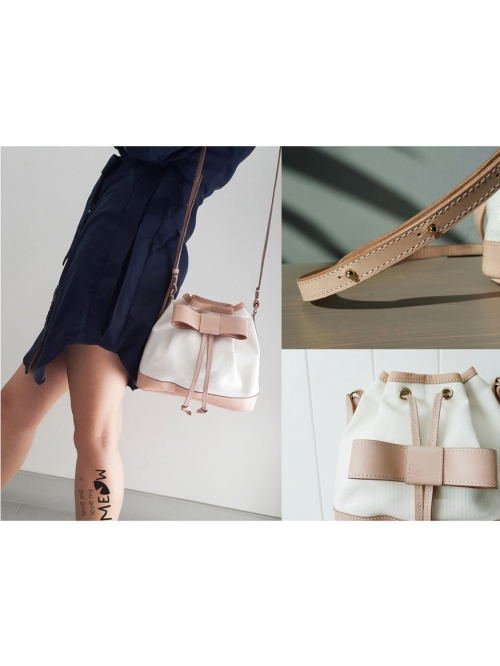 """""""BOW"""" Bucket Bag  large image 4 by LoveMeLoveMyMeow"""