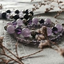 AMETHYST & LAVENDER with Siver 92.5% at Blisby