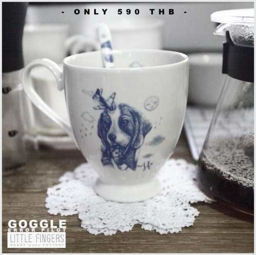 """Goggle mug"" Error pilot large image 0 by LittleFingers"