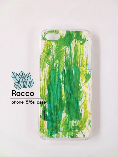 iphone 5/5s/6/6s handmade case  ลายหญ้าสีเขียว large image 0 by RoccoCase