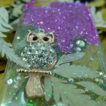 'Glam Owl' iPhone Case at Blisby
