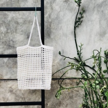 white market bag  at Blisby