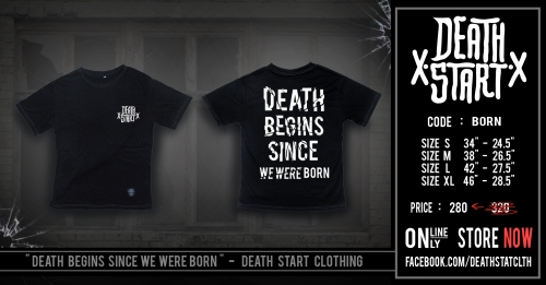 BORN T-Shirt large image 0 by DEATHSTARTCLTH