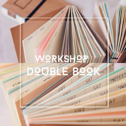 เรียนเย็บสมุด Double Book large image 0 by YepYepHandicraft