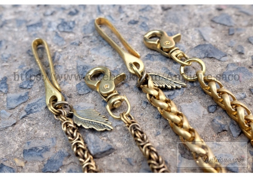 Chain Brass & Keychain Brass. large image 4 by Antiiguesaco