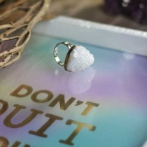 Druzy Angelic Ring at Blisby