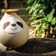 Chubby Sloth Vase / size : tall 4-5 inch, dimensions 1 inche
