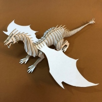 Dragon 3D Puzzle  at Blisby