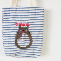 Totoro rainy day tote bag at Blisby