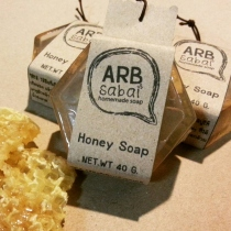 Honey soap at Blisby