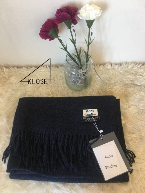 Acne studios scarves [Ash Blue] large image 1 by 4kloset