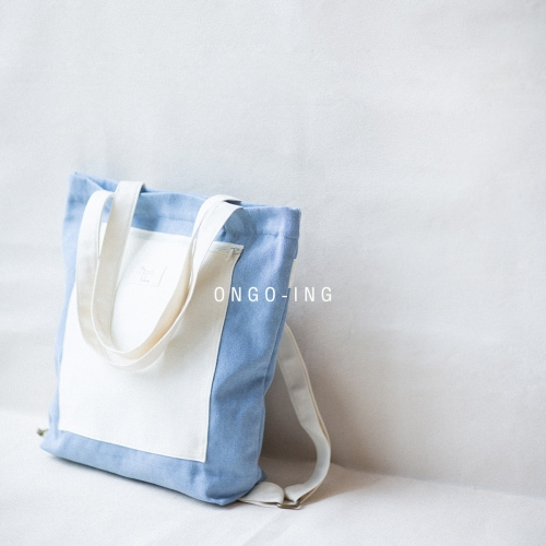 Sky Blue Jean, Totepack large image 1 by Ongoingtote
