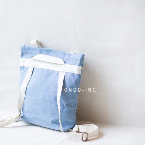 Sky Blue Jean, Totepack large image 2 by Ongoingtote