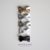 Mini Leather Bow at Blisby