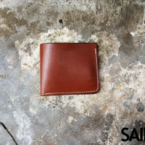 Short wallet (SW-01) dark brown color at Blisby