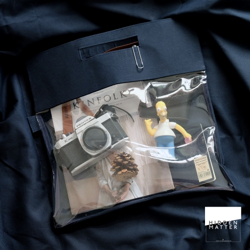 NAVY hide & seek bag  large image 0 by hiddenmatter