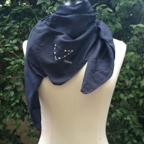 CAPRICORNUS scarf (90x90 cm) at Blisby
