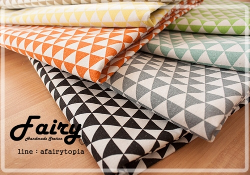 Cotton-Linen รุ่น Summer Triangle large image 1 by dFairy