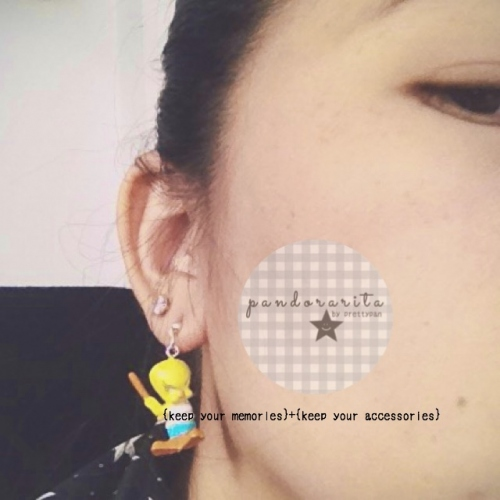{kids collection : cartoon earring} large image 3 by pandorarita