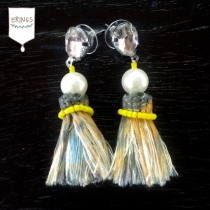 Gypsy Tassel Earring - Yellow at Blisby