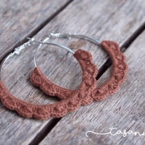 Crochet Earrings (made to order) at Blisby