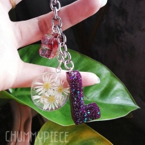 flower keyring at Blisby