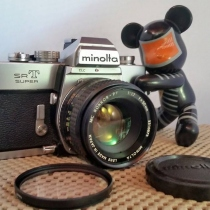 กล้อง Minolta SRT SUPER + MC ROKKOR-PF 50 F1.7  at Blisby