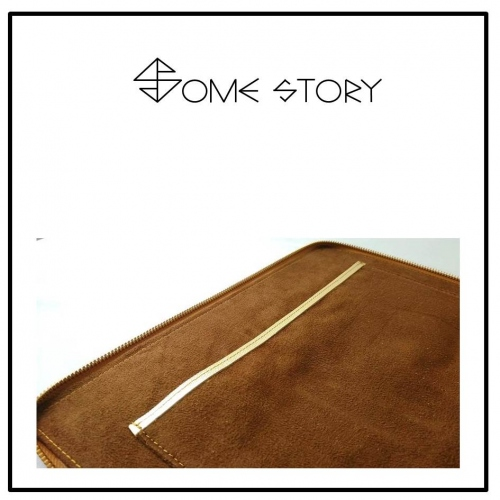 Saffiano Gold Clutch by SOME STORY large image 4 by somestory