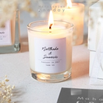 Classic Circle Candles at Blisby