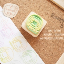 Mini size Stamp จิ๋วๆแต่แจ๋ว 3x3 cm (Made to order) at Blisby