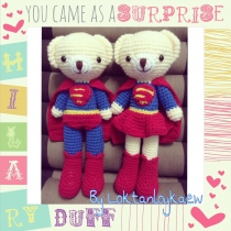 Superman&Superwoman 12 นิ้ว at Blisby
