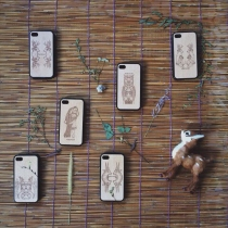 wood case ip4//4s at Blisby