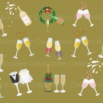 Champagne Digital Clip Art at Blisby