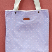 Tote bag 006 Purple at Blisby
