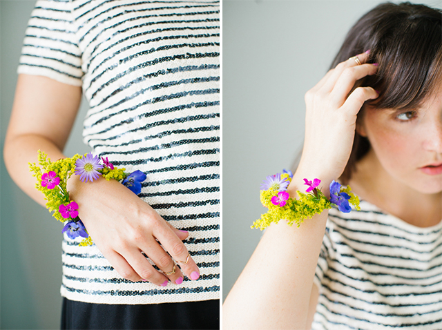 how to Flower Bracelet 6