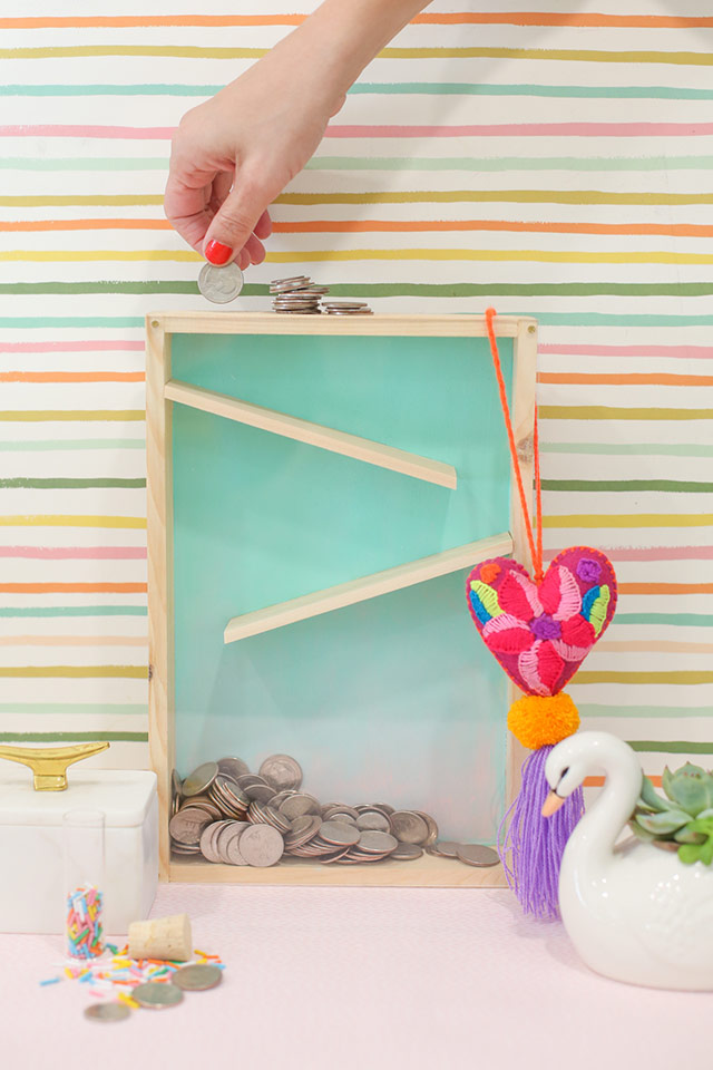 Diy for How to make a coin bank