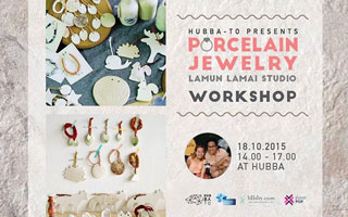 Craft Together : Porcelain Jewelry Workshop by Lamun Lamai Studio